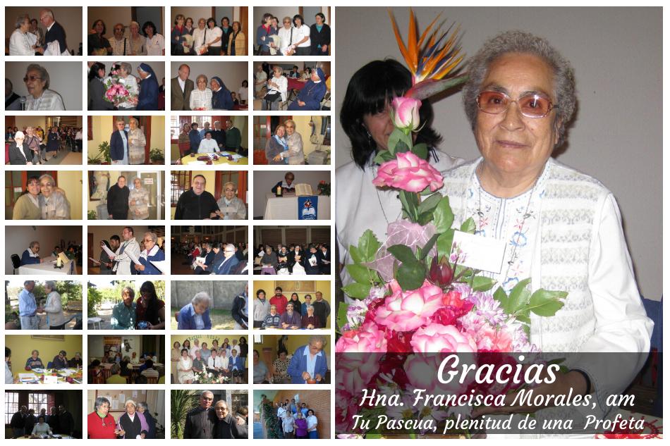 Hna. Francisca Morales, am
