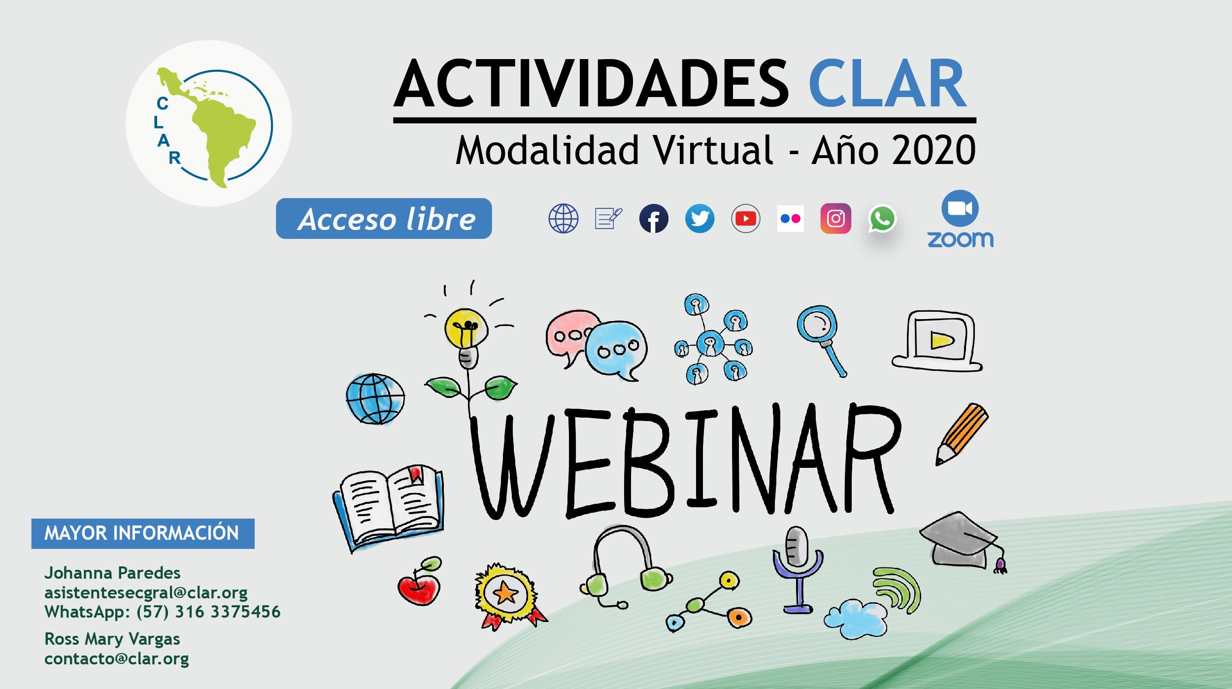 Actividades CLAR
