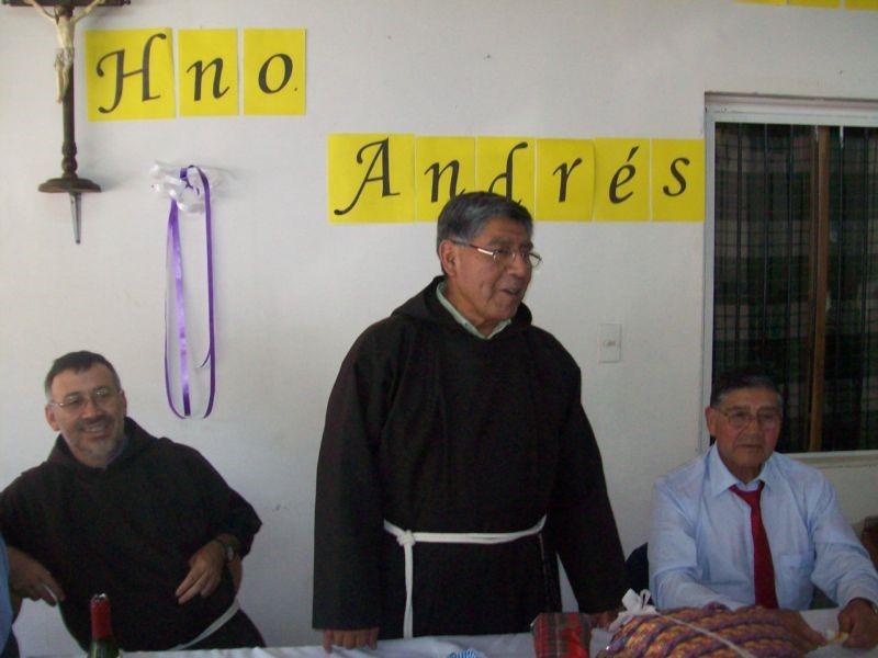 Hno. Andrés Héctor Namuncura Lloncón,OFM Cap.