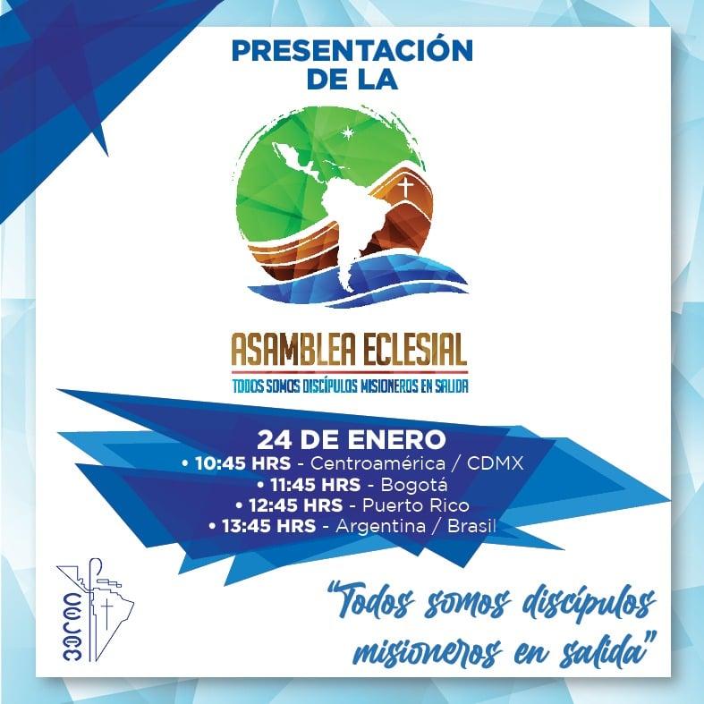 """presentación de la Asamblea Eclesial """"Todos somos discípulos misioneros en salida"""""""
