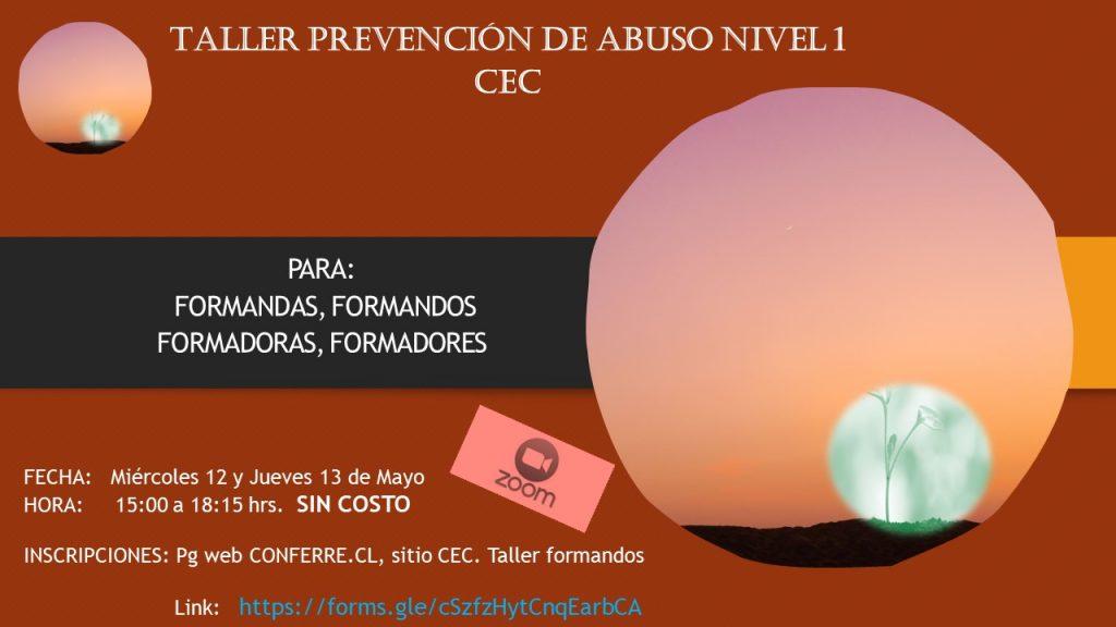 taller prevención para formandos