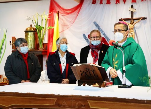 Religiosas SSCC reciben administración parroquial en Pemuco